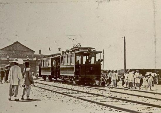 """马永 马家堡 永定门/1900年,""""马永线""""通车。"""