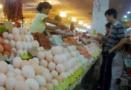 鞍山肉蛋菜價格連續18周下降 原因有兩方面