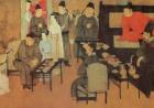 斗茶为乐画中雅事:画中人是怎么喝茶的?