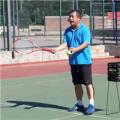 打网球之放小球技术