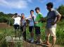 浙江农林大学72名大学生暑假与农民同吃同住同劳动