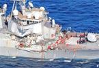 美军舰与菲律宾货轮相撞致7人死亡 初步调查错在美