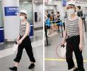 机场清流只服周迅 她居然提着塑料袋就来了!