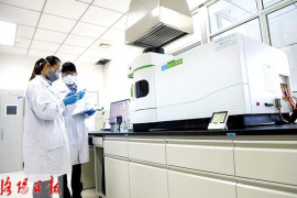 洛陽中航鋰電研發中心:科研做後盾 環保又增效