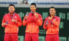 张择茂鑫逆转卫冕冠军 获全运会网球男双冠军