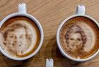 咖啡拉花出名人画像