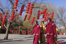 """春节圆明园""""八旗士兵""""再巡游"""