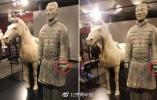 中国兵马俑在美展出拇指被盗 中方要求严惩肇事者