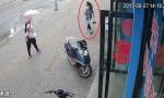 锦州一女子驾驶电动车撞人逃逸 交警公告寻人