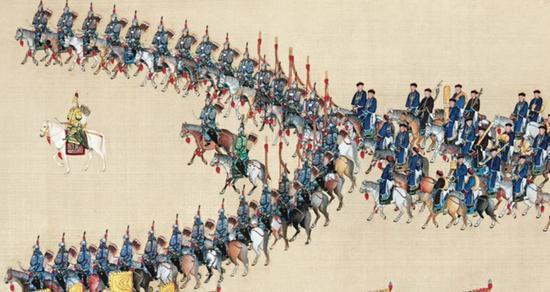 帝国斜阳之时,别说整个国家,皇帝甚至都已管不住他的宫廷。
