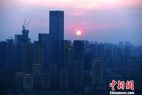 资料图为重庆高楼。<a target='_blank' href='http://www.chinanews.com/'>中新社记者 陈超 摄