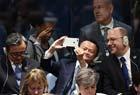 马云联合国大会自拍