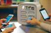 共享充电宝现身郑州街头 不到两分钟就产生首个用户