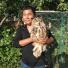 中毒雕鸮跑到保护基地 被野保志愿者救助送到了沈阳
