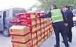无证运输66箱烟花爆竹 导航出错自己送到警察前