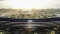 苹果的新园区已经几近完工 目前正在建造篮球场