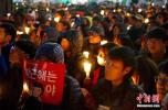 """韩""""烛光集会""""迎一周年 市民团体将举行纪念活动"""