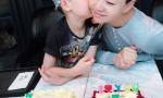 星二代拼生日蛋糕