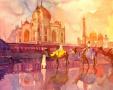 波兰画家的水彩世界