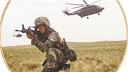 中国陆军某空中突击旅开展空地协同攻防战斗演练