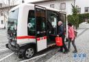 乡间小镇的智能公交车