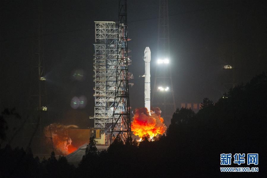 卫星进入预定轨道