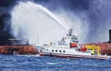 """海洋局:监测到""""桑吉""""轮沉没海域有4处溢油分布区"""
