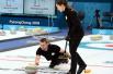 冰壶混双循环赛 瑞士力克美国 韩国不敌挪威
