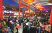 济南:元宵节4.44万人次游客涌进趵突泉公园赏灯
