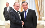 普京会见王毅:6月访华 望开启两国关系新时代