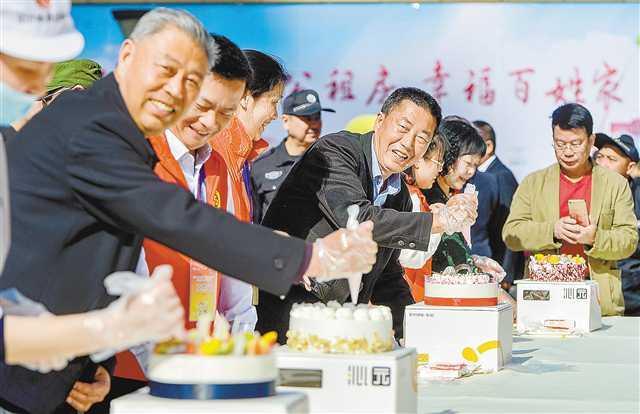 """重庆时时彩新规律公式:第六届重庆市""""爱在公租房""""社区邻里节启动"""