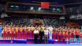 2018年全国体操锦标赛男团决赛,江苏队获冠军