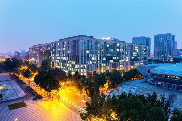 北京航空航天大学夜景