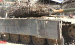 坦克装上板砖装甲
