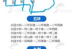 """济南2020年建成""""五环九射""""无轨电车网 附线路图"""
