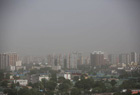 北京大风、沙尘齐发