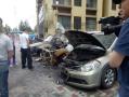 距离不到百米 一夜间三辆车燃烧10余辆车被砸
