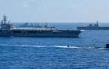中国侦察舰现身关岛海域抵近侦察美日印海上演习