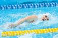 亚运会游泳比赛第二日 中国队再获3块金牌