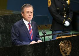 文在寅:韩国日本应换位思考 正视历史做真朋友