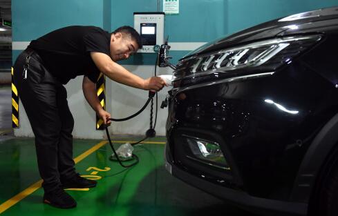 共享汽车与私家车错峰充电