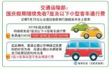 好消息!国庆假期继续免收7座及以下小客车通行费