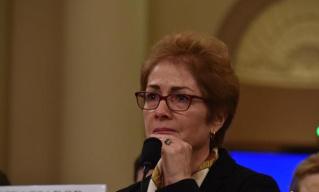 前美国驻乌克兰大使出席国会弹劾总统调查公开听证会