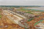 大别山革命老区引淮供水灌溉工程枢纽工程节制闸闸墩浇筑完成