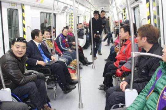 今天大連地鐵開通兩週年 1.16億人次感受地鐵速度