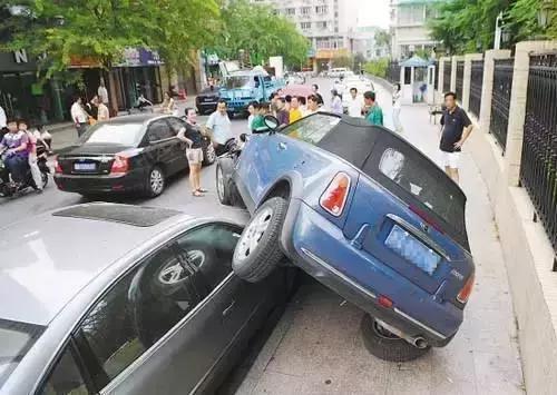 车源宝提示:不会停车?那你的车离毁灭不远了