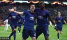欧联杯决赛-博格巴姆希塔良破门 曼联2-0捧杯