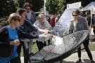 比利时首都布鲁塞尔迎接世界环境日