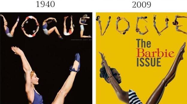 时尚摄影作品的变迁