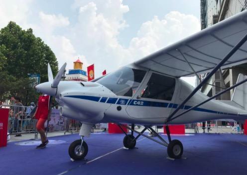 济南一家电商场开卖百万私人飞机